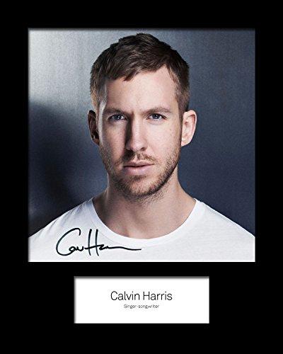 Calvin Harris # 2foto enmarcada y firmada 10X 8Impresión
