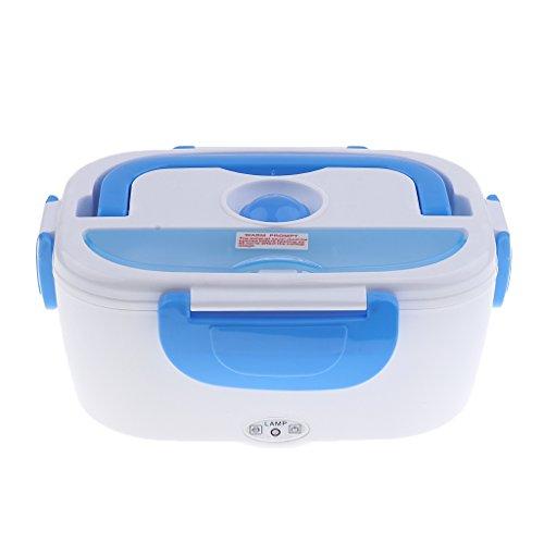 non-brand gazechimp Tragbare Heizung Lunchbox Auto Elektrisch Beheizten Bento Essen Wärmer Bento Essen