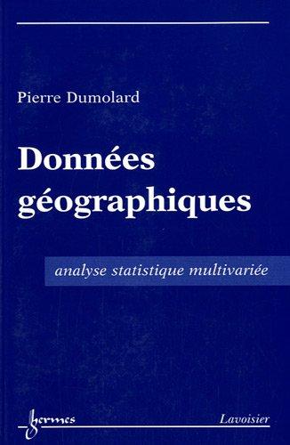 Données géographiques : Analyse statistique multivariée