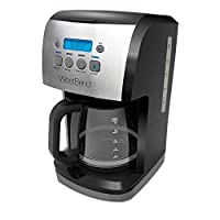 West Bend Cup Steep & Brew Coffee Maker, Black/Metallic
