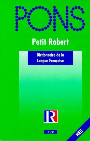 PONS Wörterbuch, Petit Robert