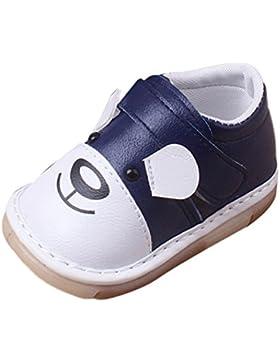 Igemy 1Paar Neugeboren Säugling Baby Jungen Mädchen Karikatur Leder Casual Flats Schuhe