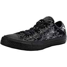 Converse Chuck Taylor All Star Sequin OX Black Textile Trainers