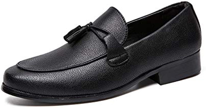 Men's Fashion Oxford Casual Classic Classic Classic Tassel Scarpe Basse Formali Confortevoli Scarpe da Cricket | Moderno Ed Elegante Nella Moda  | Maschio/Ragazze Scarpa  010728
