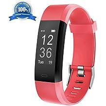 Fitness Armband HolyHigh YG3 Plus HR Pulsuhr Aktivitätstracker mit Herzfrequenz Monitor