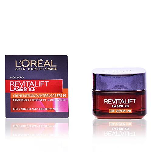 L'Oréal Paris Tagescreme Revitalift Laser X3 Tagespflege Lichtschutzfaktor 20, 1er Pack (1 x 50 ml)
