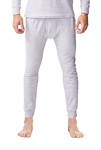 SPAIO Worm Zone Pantalons à Rayures, Gris chiné, XXL