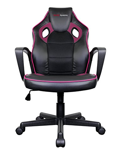 Mars Gaming Gaming Chair Sedia Gaming MGC0BPK colorazione Deep Black and Pink