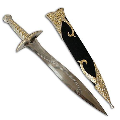 BKL1® Schwert Sting Hobbit Herr der Ringe Messer Filmschwert 105 (Hobbit-messer)