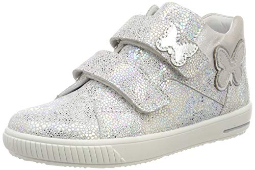 Superfit Baby Mädchen Moppy Sneaker Weiß 10, 21 EU