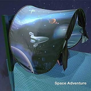 ACA DreamTents Fun Pop Up Tent- Space Adventure- Twin Size