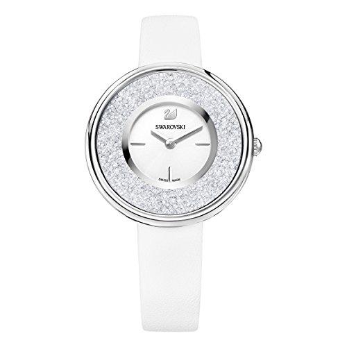 Swarovski orologio crystalline pure, bianco