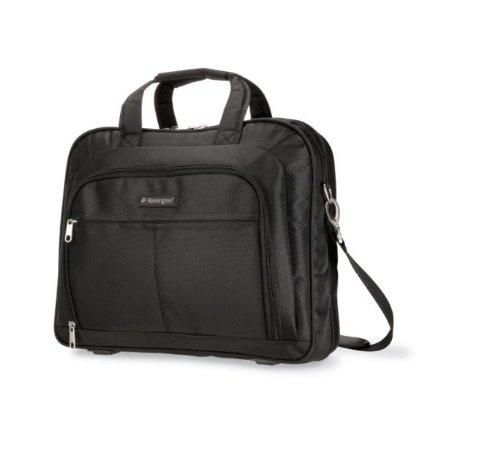 Kensington SP80 Deluxe Case 1680 Denier Ballistic Nylon Tasche für Notebooks bis 39,1 cm (15,4 Zoll) (Aktentasche Ballistic Nylon)
