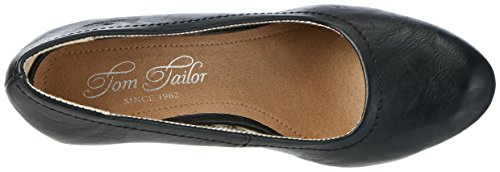Tom Tailor 2799001, Escarpins femme Schwarz (Black)