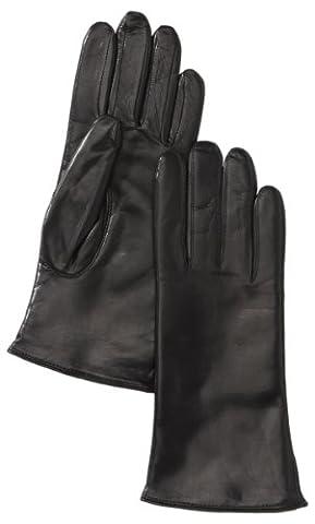 Roeckl Damen Handschuhe Classic, Einfarbig, Schwarz (000), 7 (Herstellergröße: 7)