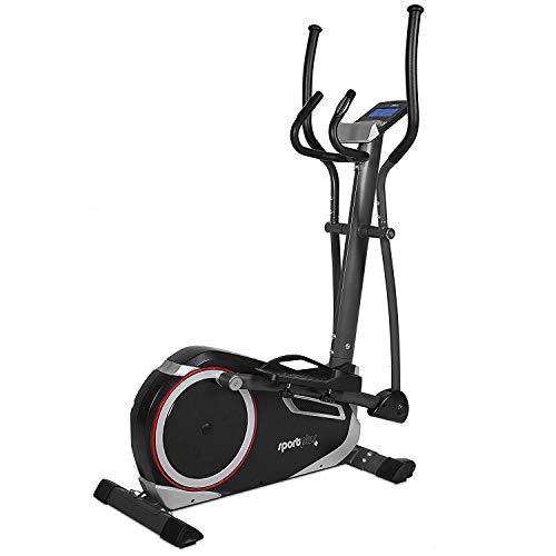 sport plus ergometer cross trainer con app di controllo e google street view, bluetooth toracica compatibile personalizzato, peso fino a 150kg, volano da 17kg, ie di et 9600sp