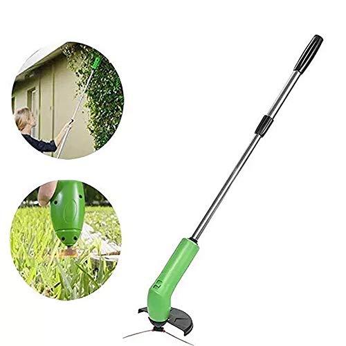 ZYJFP Elektrischer Mini-Rasenmäher, Hand Schnurlose Unkraut Trimmer, Suitble Für Kleine Familie Garten Begrünung, Grün - Mini-rasenmäher