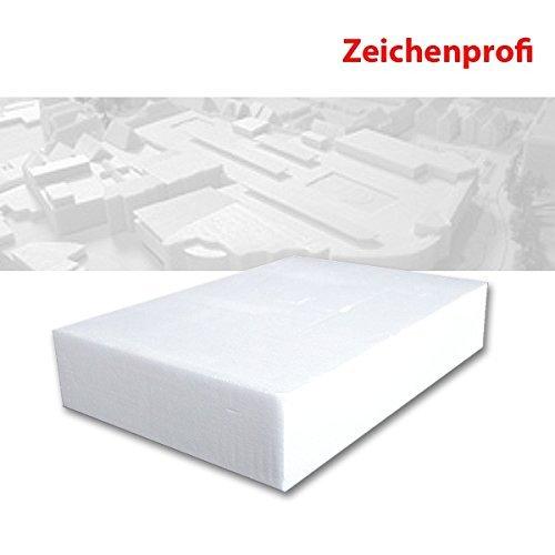 Preisvergleich Produktbild XPS Hartschaum fein, 8 x 29 x 39 cm, hochweiß