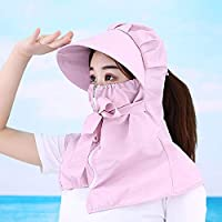 Noah - Sombreros de sol para hombre y mujer, protección UV, protección solar, diseño de flores (sin lente), talla única (mediana)