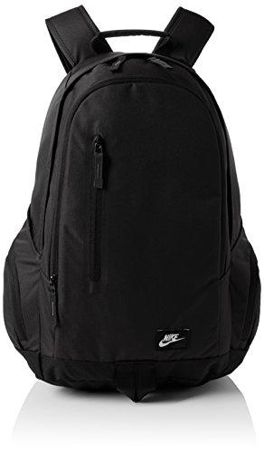 Nike Unisex Rucksack Access Fullfare, black/white, 32 x 47 x 17 cm, 24 Liter, BA4855-001