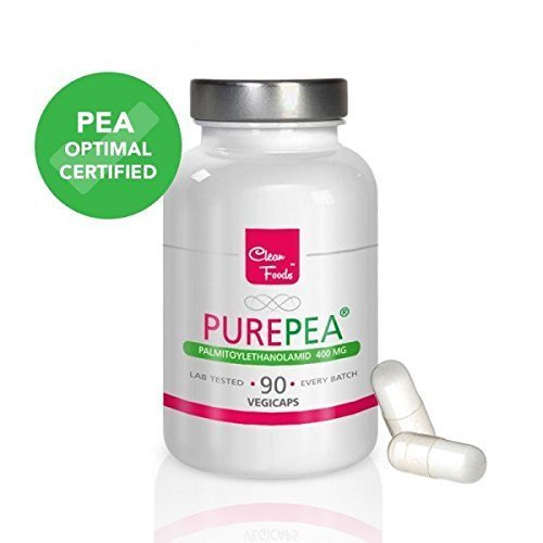 3-pack Pure PEA Palmitoylethanolamid 400mg 90 pflanzliche Kapseln PEA optimal certified by Apran