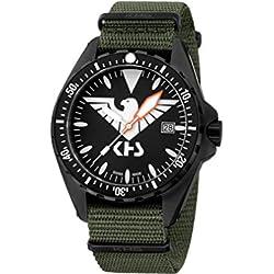 KHS Mens Watch MissionTimer 3 Eagle One KHS.MTE.NO