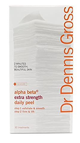 Dr Dennis Gross Skincare Alpha Beta Daily Face Peel Extra Strength 30 Day Packettes