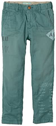 Scotch Shrunk Jungen Hose 13440880504 worker pants with contrast colour inside, 152 (Herstellergröße: 12), Türkis (88 - petrol)