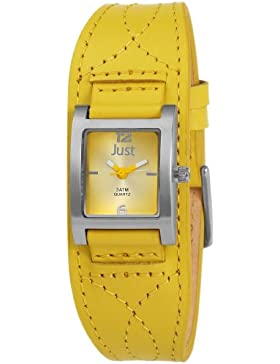 Just Watches Damen-Armbanduhr Analog Quarz Leder 48-S8976-YL