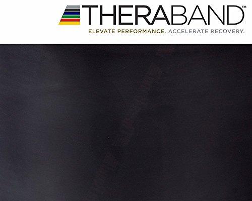 Thera-Band TheraBand 2,5m Gymnastikband Übungsband NEU&OVP (SCHWARZ)