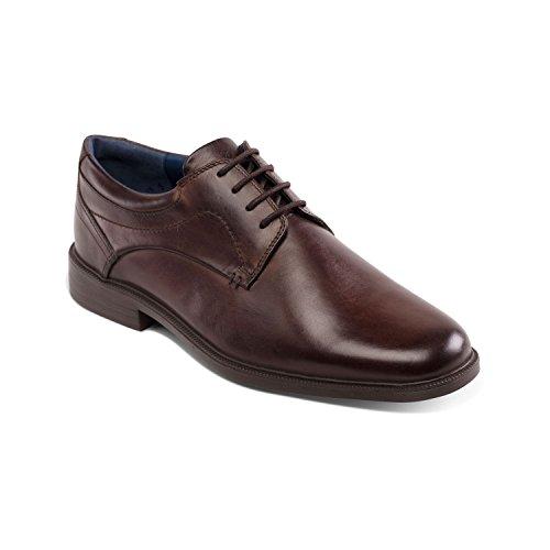 Padders Chaussures de Ville à Lacets Pour Homme Marron