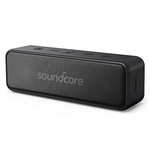 Anker Soundcore Motion B Tragbarer Bluetooth Lautsprecher,mit 12W Stereo Sound und starker BassUp Technologie,12 Stunden Akkulaufzeit, IPX7 Wasserdichte, für Zuhause und Draußen