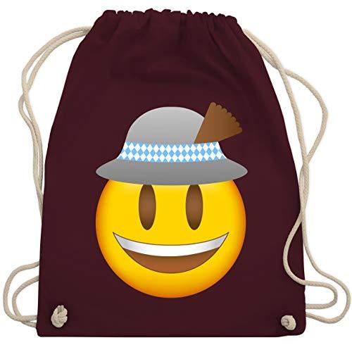 Verrückte Hüte Ideen - Oktoberfest Beutel - Oktoberfest Emoji mit