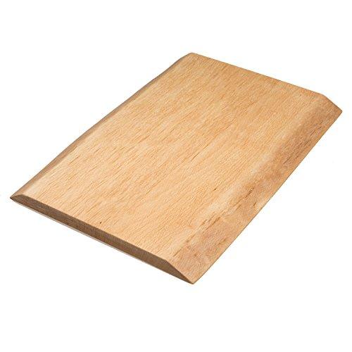 Tabla de madera Paul Natural 100% haya maciza, biogeölt, sin cola, madera, Klein (40 x 25 x 2)