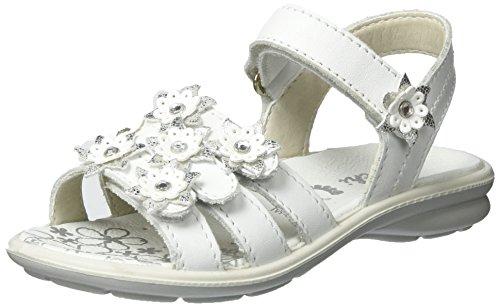 Lurchi Mädchen Femmy Sandalen, Weiß (White), 35 EU