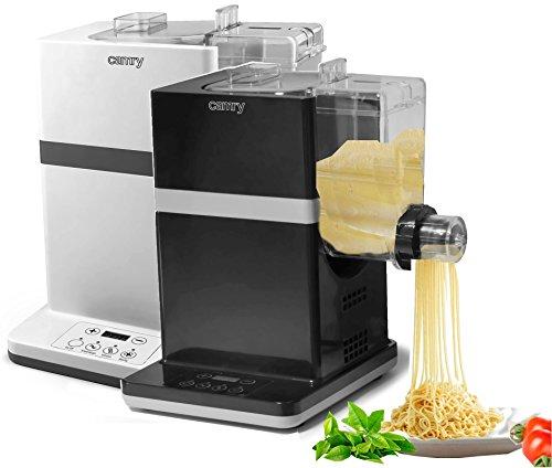 Camry–Macchina per pasta, elettrico produttore della pasta in Bianco e nero di 150W durante 6tipi di pasta, bianco
