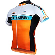Cycling Jersey Top Range Cycle World Series Court Aero Mod. Absolute Fluorescent Orange. Size 2X L