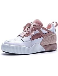 Zapatos de mujer Zapatillas de deporte de cuero genuino Zapatillas de deporte Zapatillas de running Senderismo...