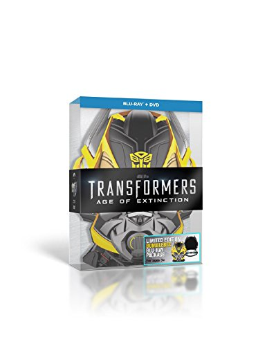 f Extinction Limited Bumblebee Edition 3-Disc (Transformers 4: Ära des Untergangs)[2D Blu ray + Bonus Blu Ray Disc Over 3 Hours of Special Features + DVD] [Finland Import] [Region Free] Blu Ray ()
