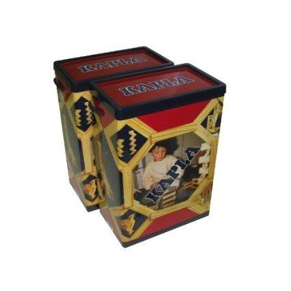 Preisvergleich Produktbild KAPLA-Das Magische Plättchen, Holzbaukasten 400 Steine