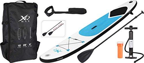 Gebraucht, XQ Max SUP aufblasbares Stand Up Paddle Board Set 305 gebraucht kaufen  Wird an jeden Ort in Deutschland