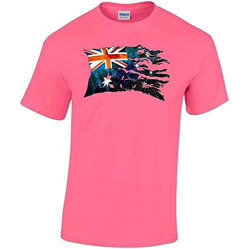 bandiera-strappati-australia-safety-pink-gildan-heavy-cotton-t-shirt-rosa-cotone-uomo-maglietta-mens