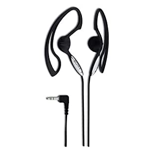 Sony MDRJ10B VITE Headphones With Over Ear Clip (discontinued by manufacturer)