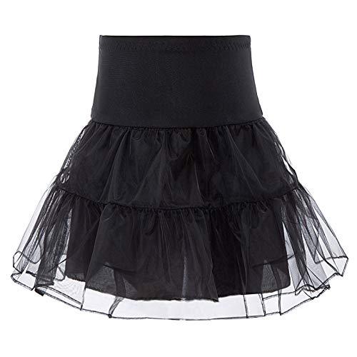 GRACE KARIN Maedchen Lang Retro Petticoat Unterrock 8-9 Jahre DB16-1
