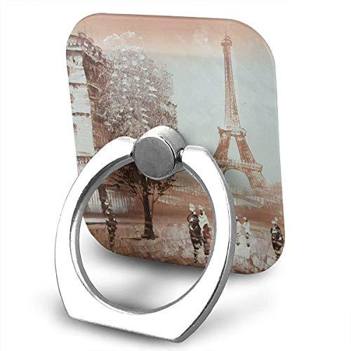 Nicegift Paris Eiffel Tower Finger Ring Holder, Universal Cell Phone Ring Grip Stand Support for iPhone Android Phone