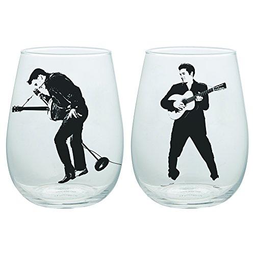 vándor 47212Elvis Presley Gläser, farbenreiche (Presley Fan Elvis)