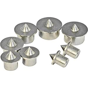 Silverline 733252 Dowel Centre Point, 6-12 mm - Set of 8