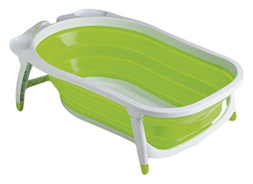 Foppapedretti Soffietto - Bañera para bebé, plegable y portátil, color verde