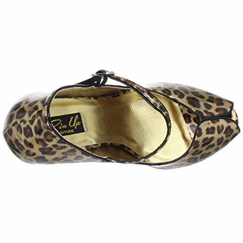 PLEASURE-02 - Pleaser USA Shoes Or Brillant