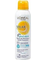 L'Oréal - Lait en spray haute protection spécial enfants indice 30 - Solar Expertise - 150 ml